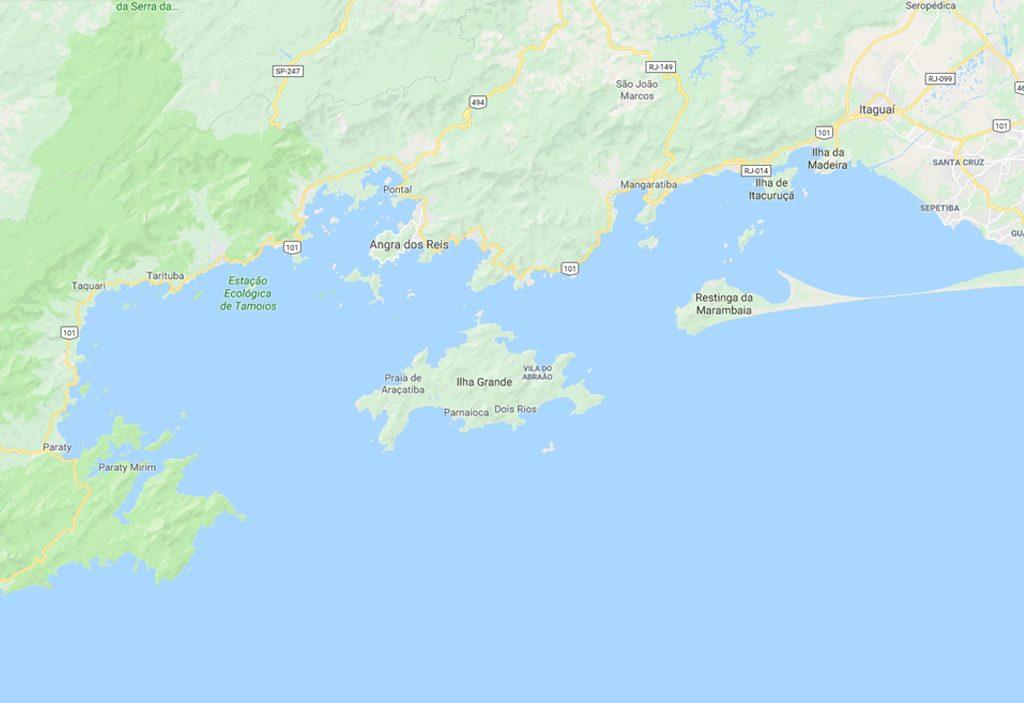 Porto de Baía de Sepetiba e Ilha Grande